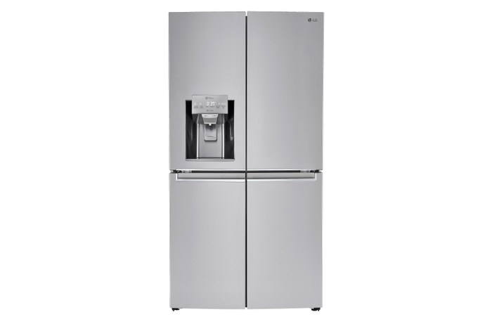 Lg 23 Cu Ft 4 Door French Door Counter Depth Refrigerator