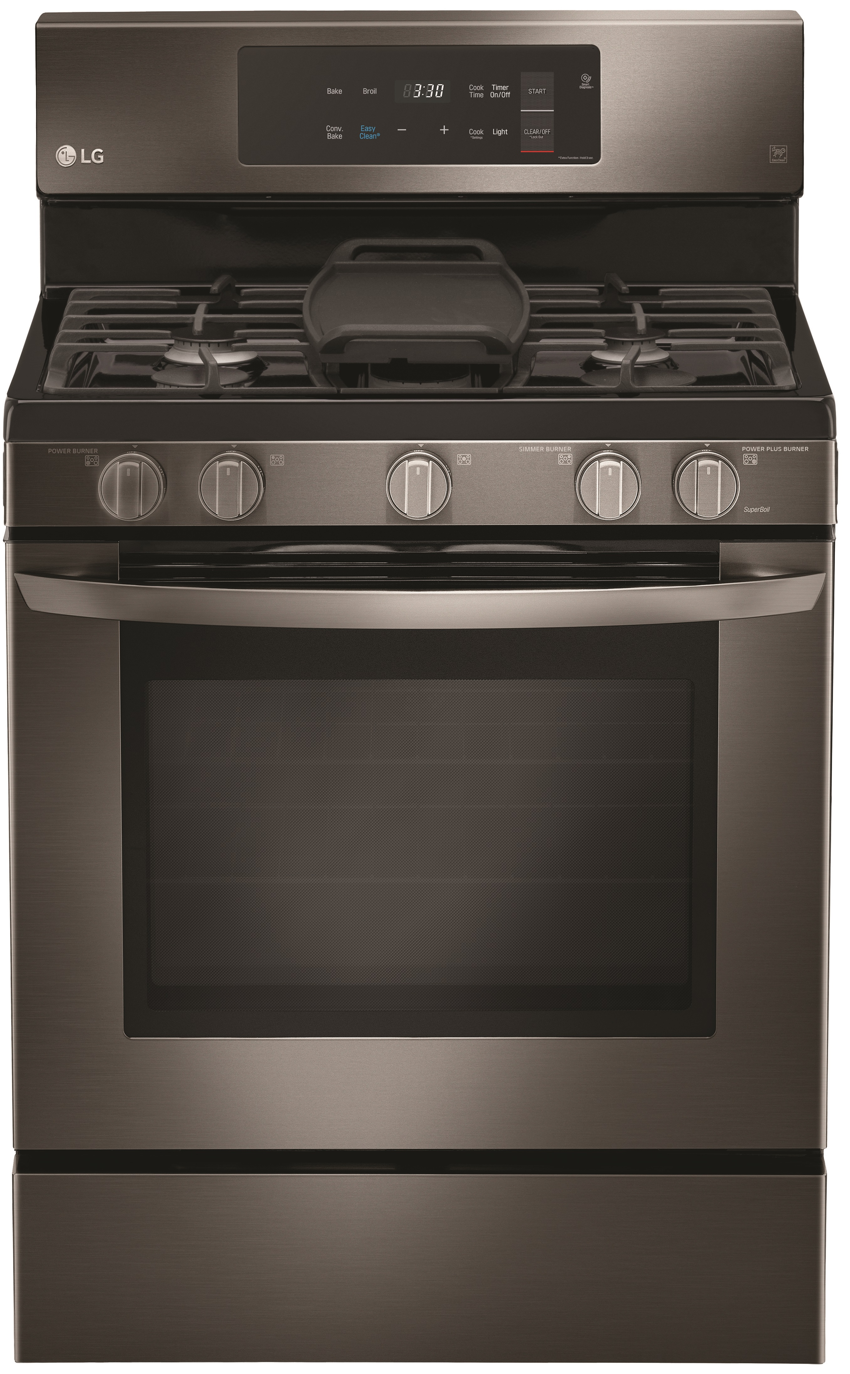 LG Over the Range Microwave Oven-Black Stainless Steel