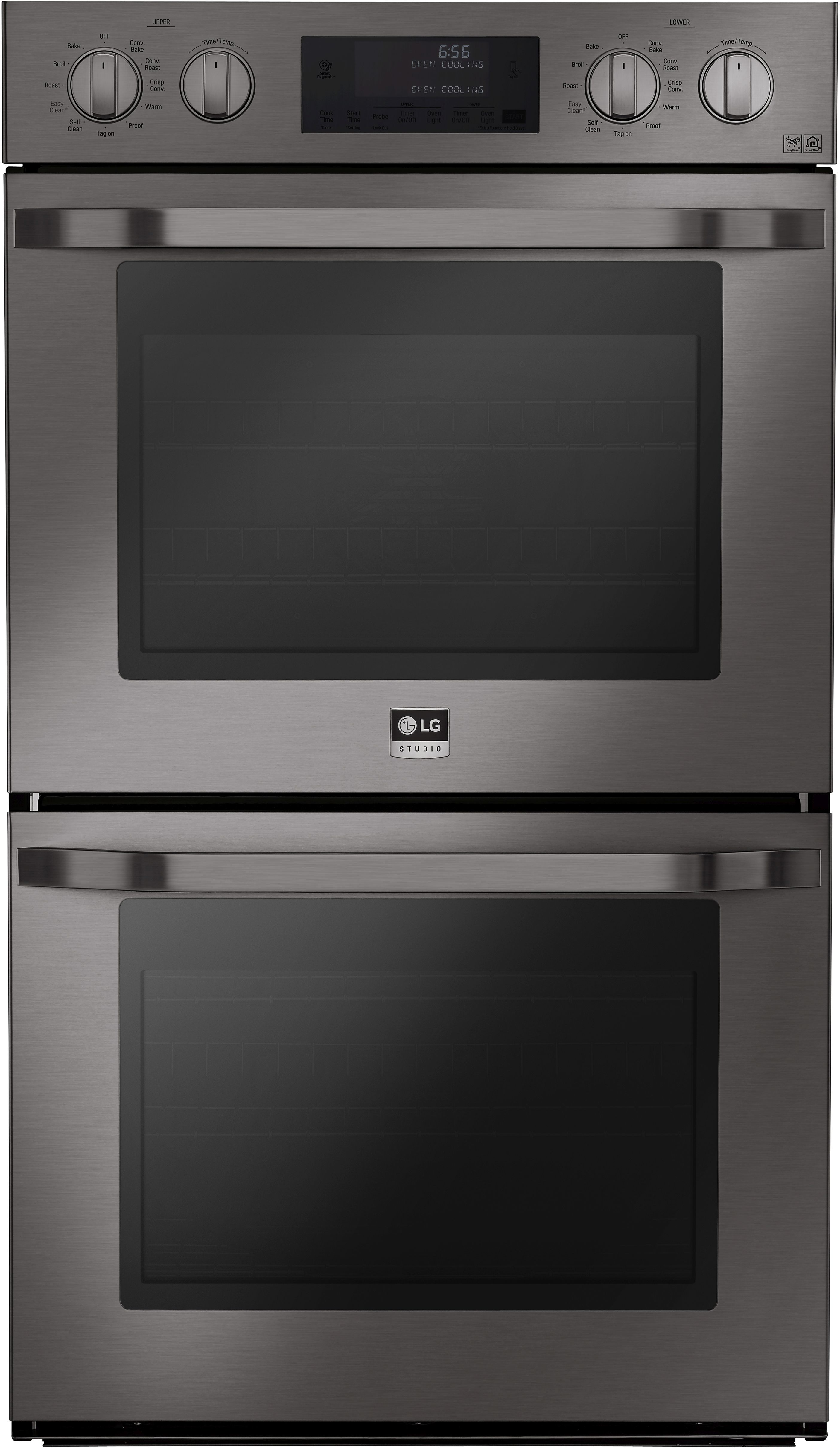 Lg 30 Electric Built In Double Wall Oven Black Stainless Steel