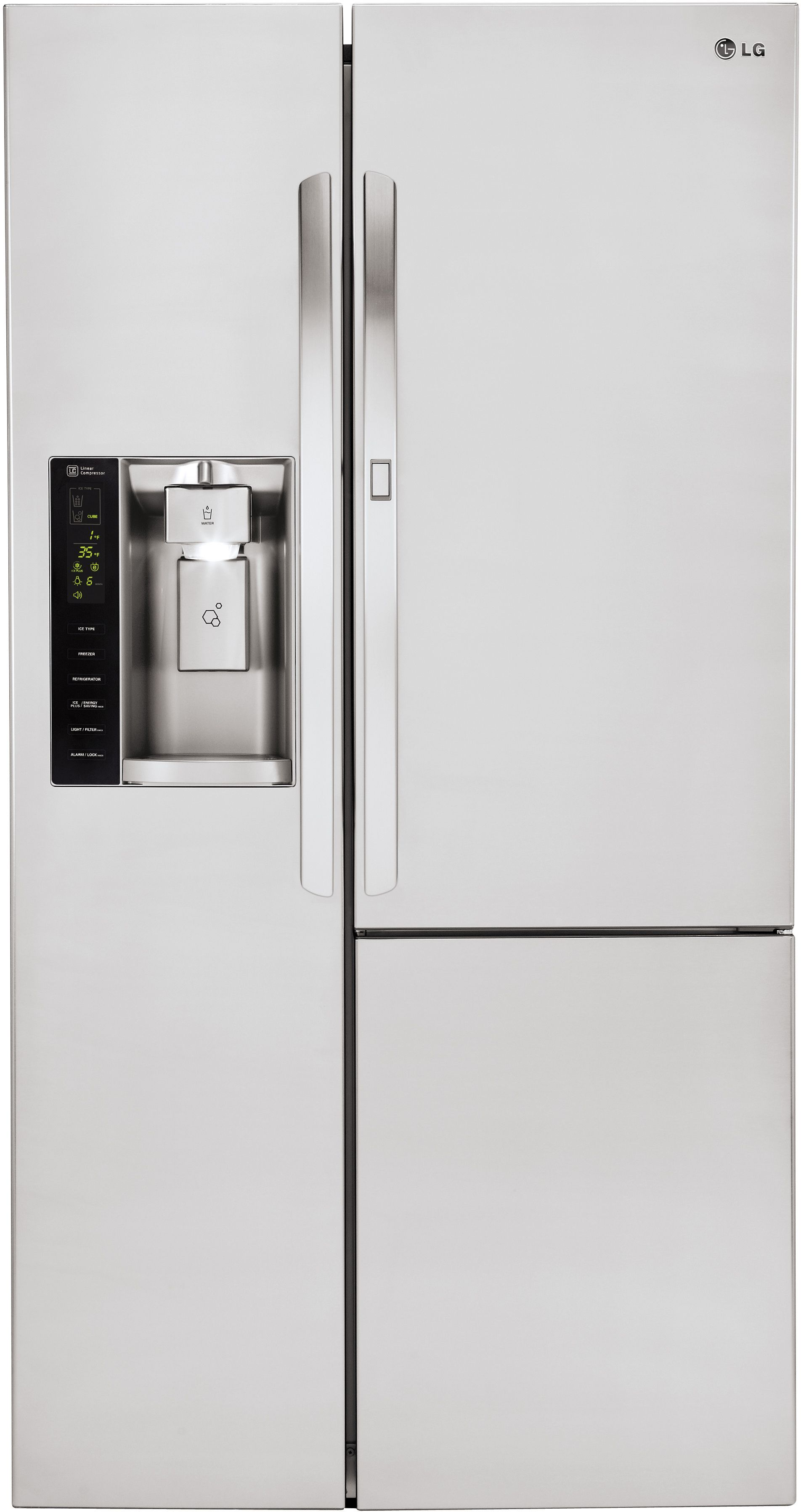 Beau Ft. Side By Side Refrigerator Stainless Steel LSXS26366S