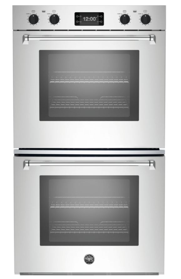 Bertazzoni Master Series 30 Electric Double Oven Built In Stainless Steel Masfd30xt