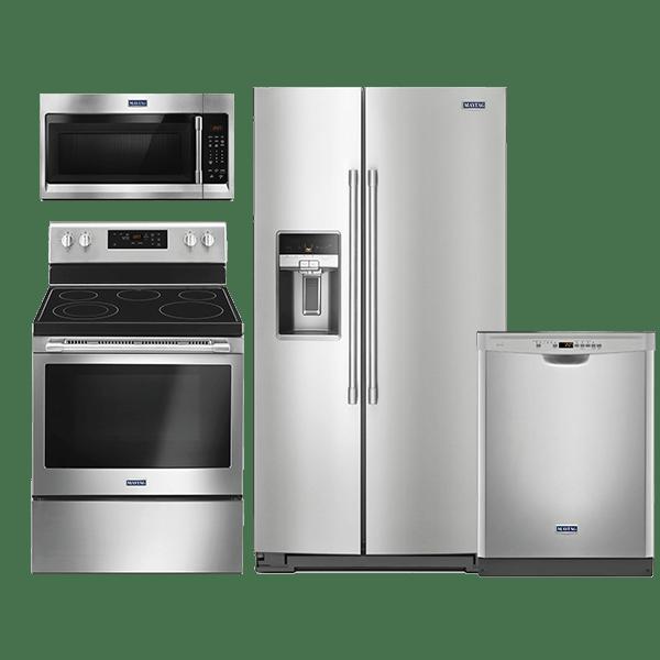 maytag stainless steel kitchen appliance package besto blog. Black Bedroom Furniture Sets. Home Design Ideas