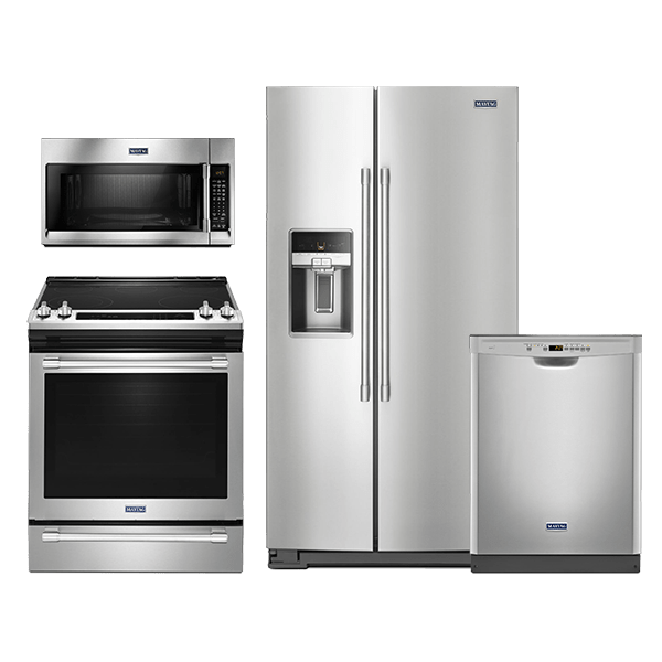 Maytag Fingerprint Resistant Stainless Steel Kitchen Package MAYAUGKIT20173