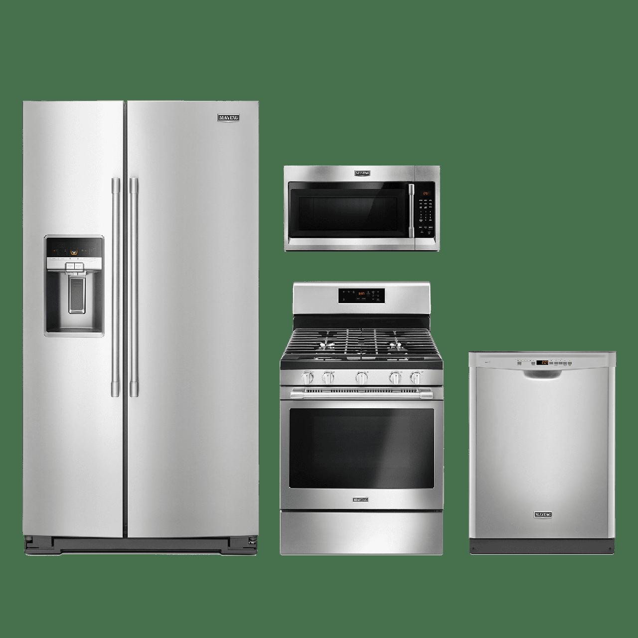 Maytag® 4 Piece Kitchen Package-Fingerprint Resistant