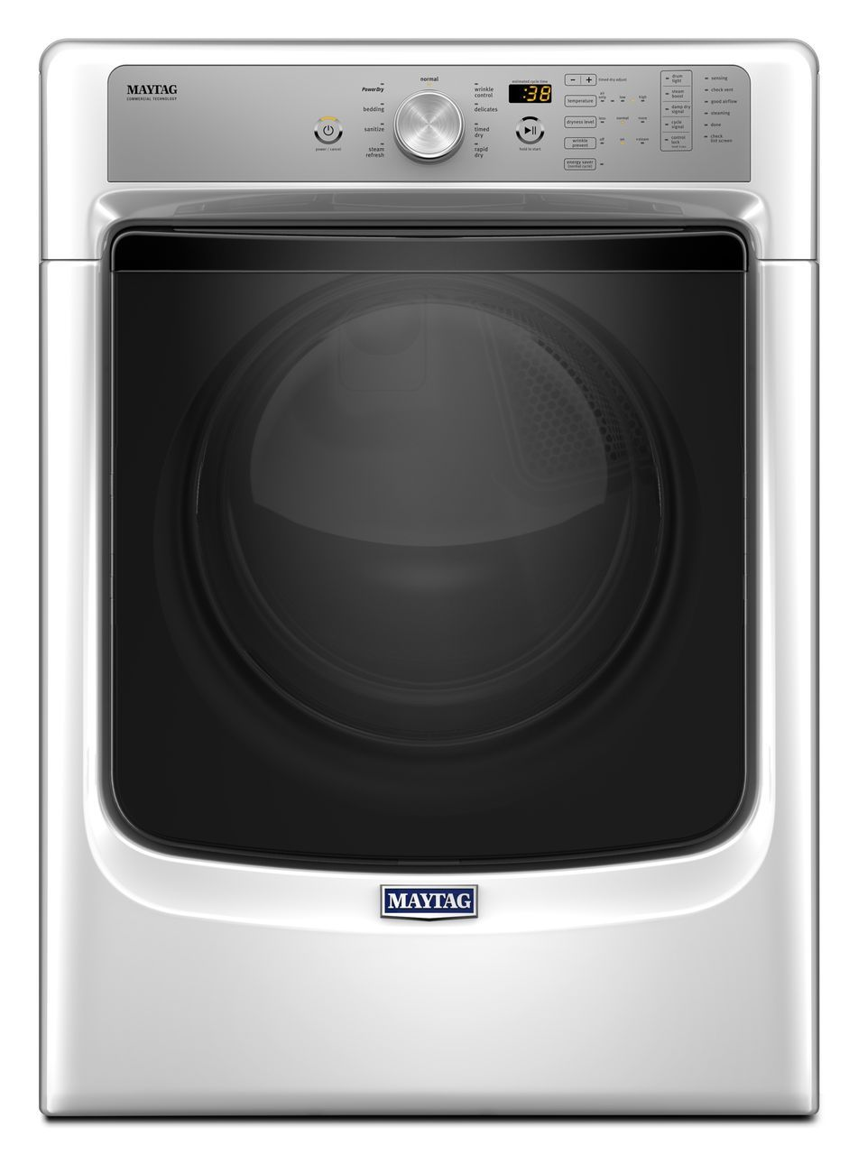 Maytag Front Load Electric Dryer White Med5500f Double Oven Wiring Diagram 74 Cu Ft Metallic Slate Med5500fc