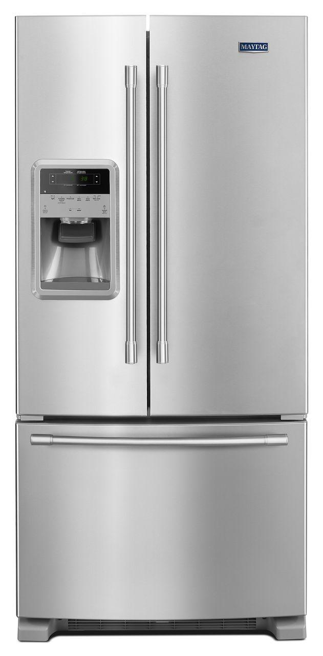 Ft French Door Refrigerator Fingerprint Resistant Stainless Steel