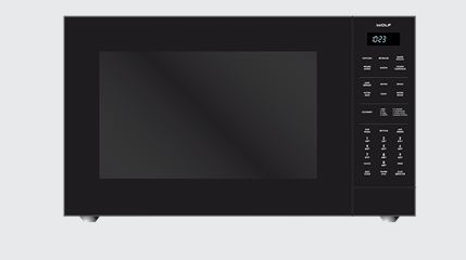 Wolf Built In Convection Microwave Oven Black Mc24