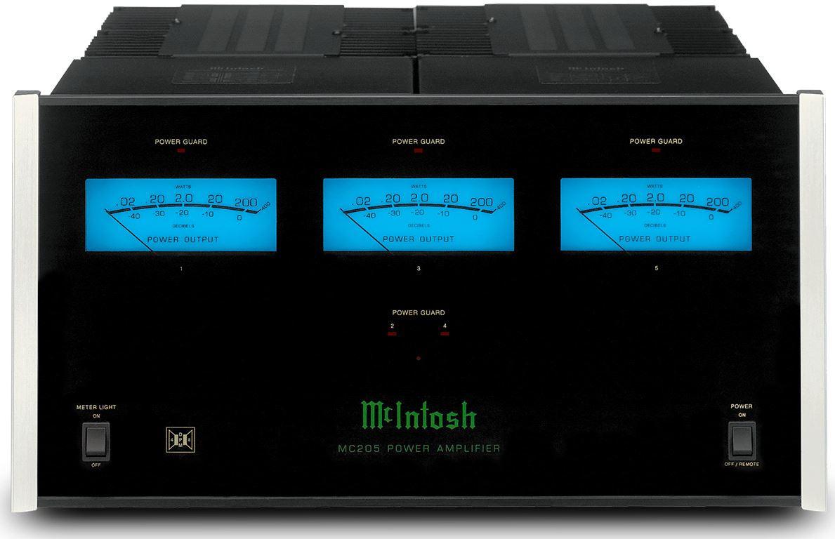 Mclntosh Amplifiers Black Mc205 Satellite Tv Antenna Electronics 4k Power Amplifier Compatible With Audio Mcintosh