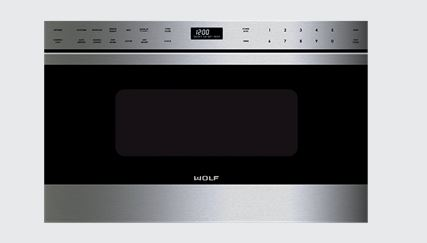 Wolf Built In Microwave Stainless Steel Md24te S