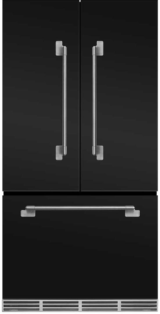 Aga Elise 221 Cu Ft Counter Depth French Door Refrigerator Matte