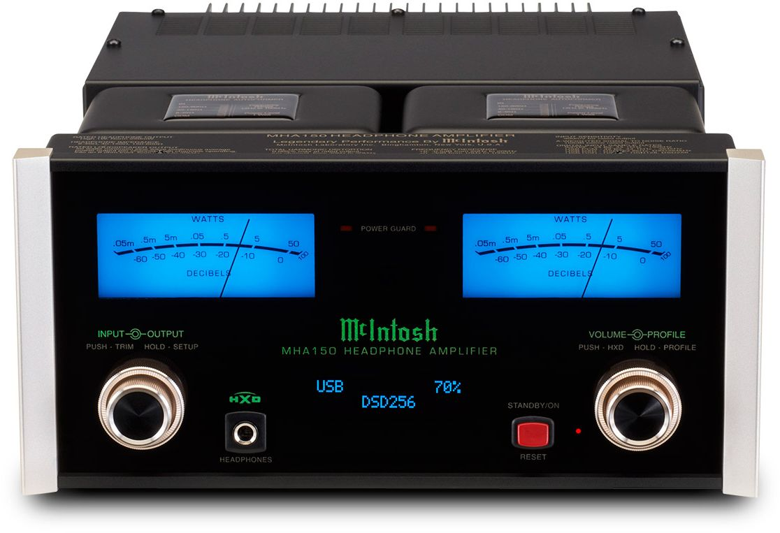 mcintosh 2 channel headphone amplifier mha150 bjorn s. Black Bedroom Furniture Sets. Home Design Ideas