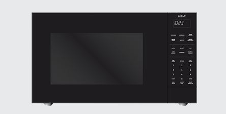 Wolf Built In Microwave Oven Black Ms24