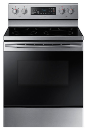 Samsung 30 Quot Freestanding Electric Range Stainless Steel