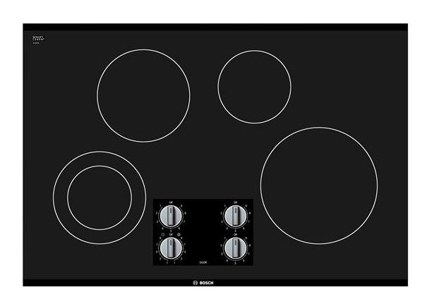 Bosch 500 Series 30 Electric Cooktop Black Nem5066uc