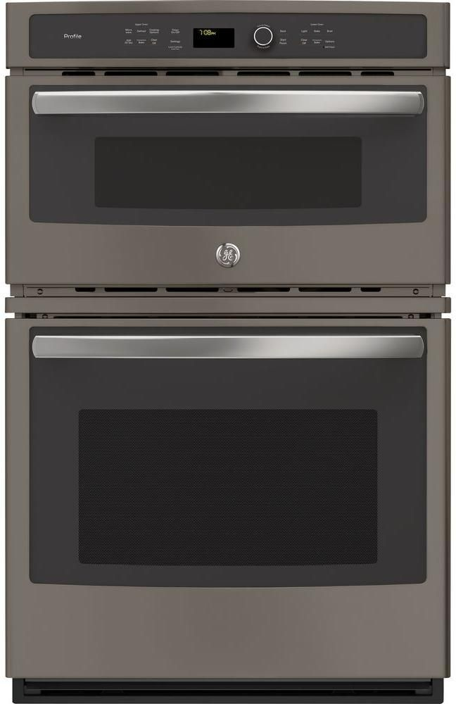 Ge Profile 27 Slate Built In Combination Convection Microwave Wall Oven