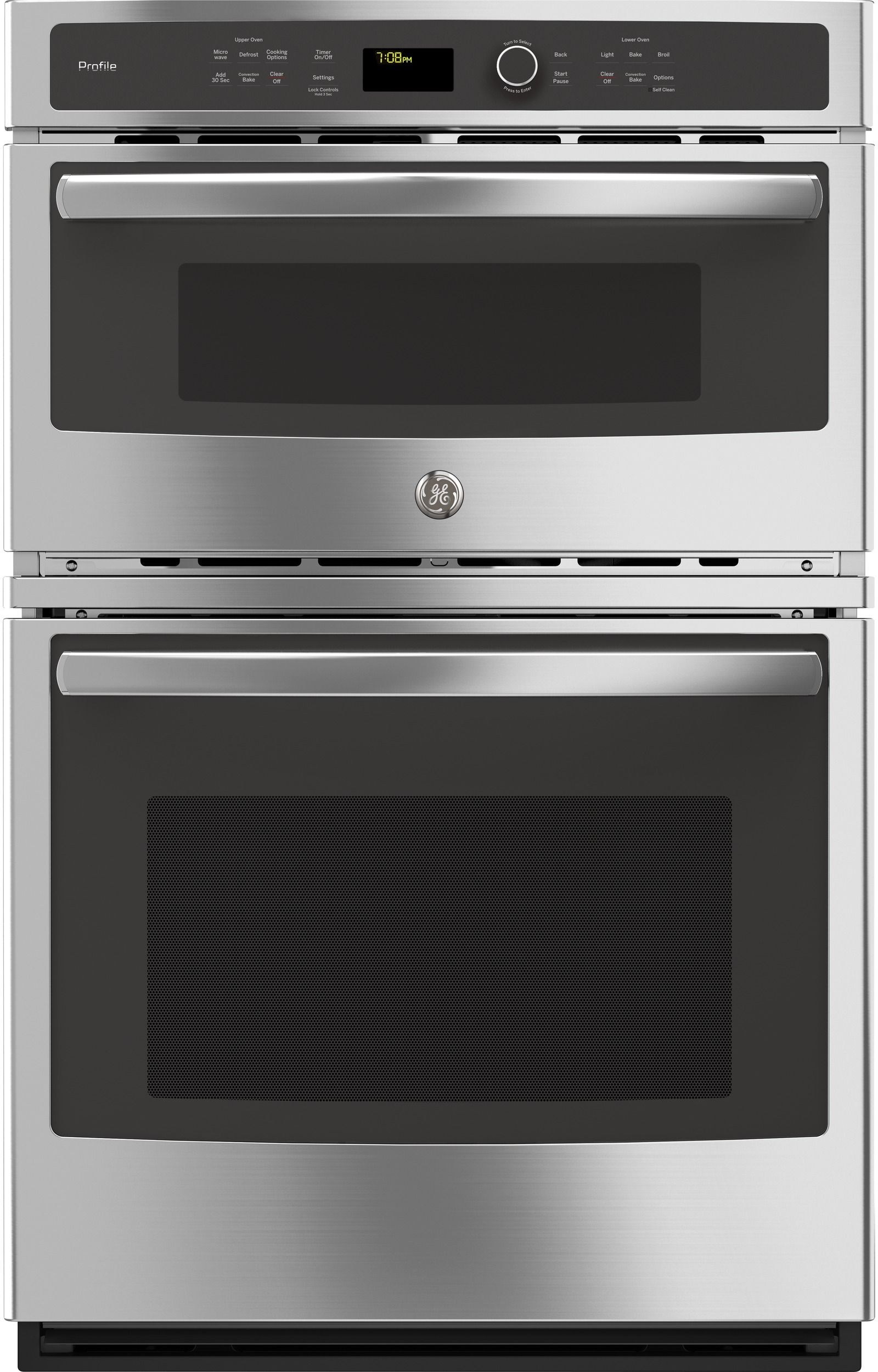 Ge Profile 27 Built In Combination Convection Microwave Wall Oven