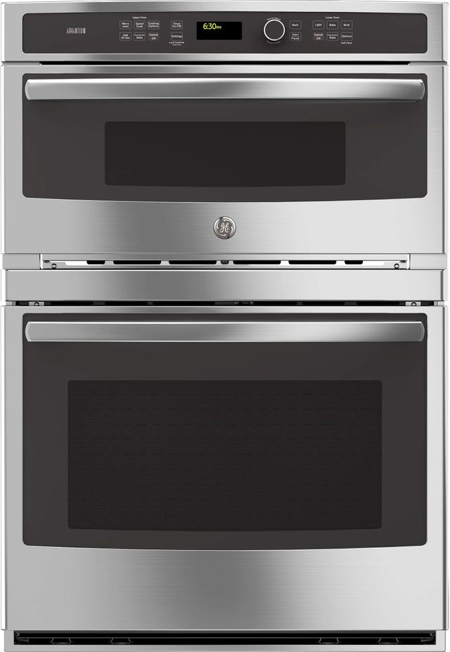 Ge Profile Series 29 75 Stainless Steel Wall Oven Microwave
