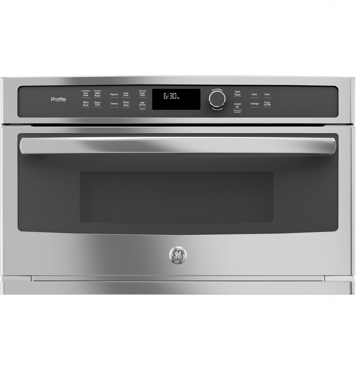 Ge Profile Series Built In Microwave Convection Oven Stainless Steel Pwb7030slss