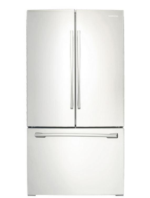 Samsung 255 Cu Ft French Door Refrigerator White Rf260beaeww