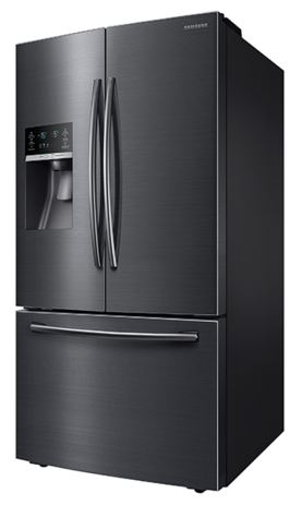Ft. French Door Refrigerator Fingerprint Resistant Black Stainless Steel   ...