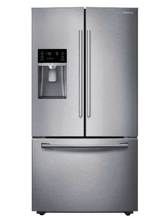 Attrayant Ft. French Door Refrigerator Stainless Steel RF28HFEDBSR ...