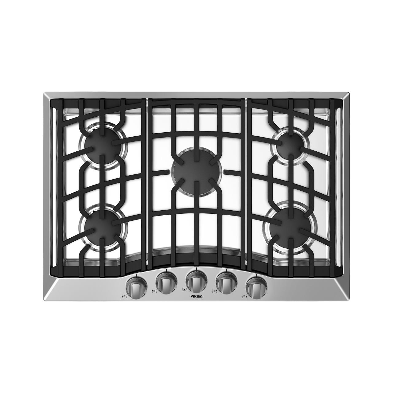 Viking 3 Series 30 Gas Cooktop Stainless Steel Rvgc33015bss