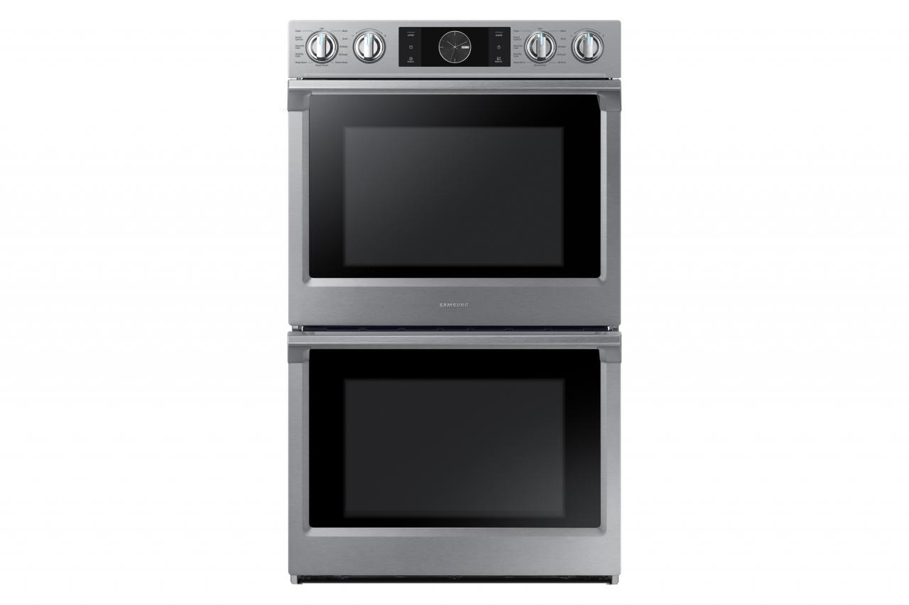 Samsung 30 Electric Built In Double Wall Oven Stainless Steel Nv51k7770ds