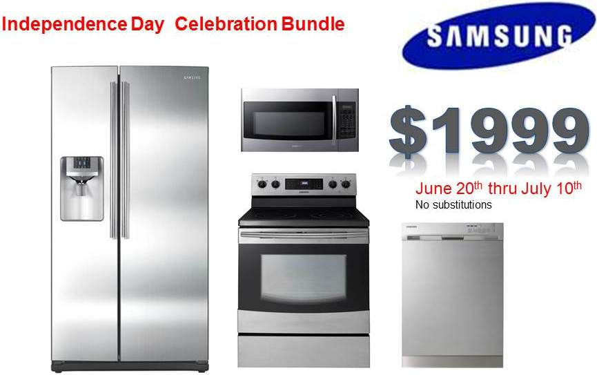 Samsung 4 Piece Kitchen Package