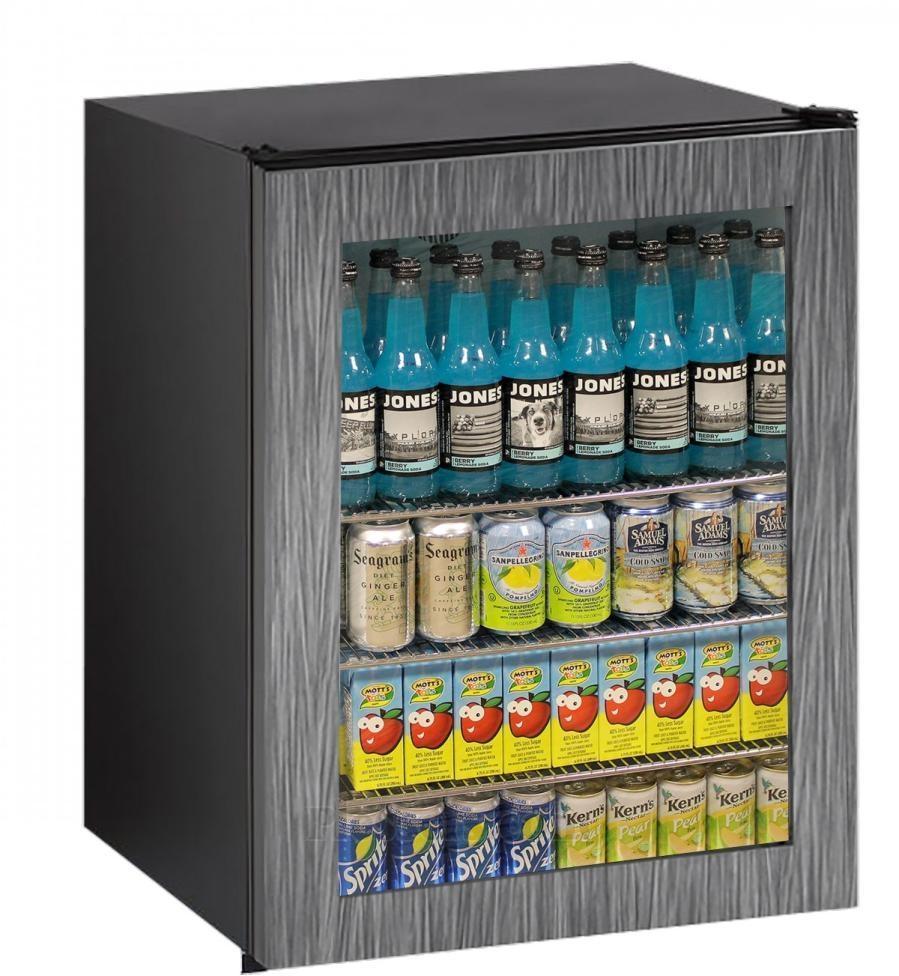 U Line Ada Series 54 Cu Ft Glass Door Refrigerator Integrated