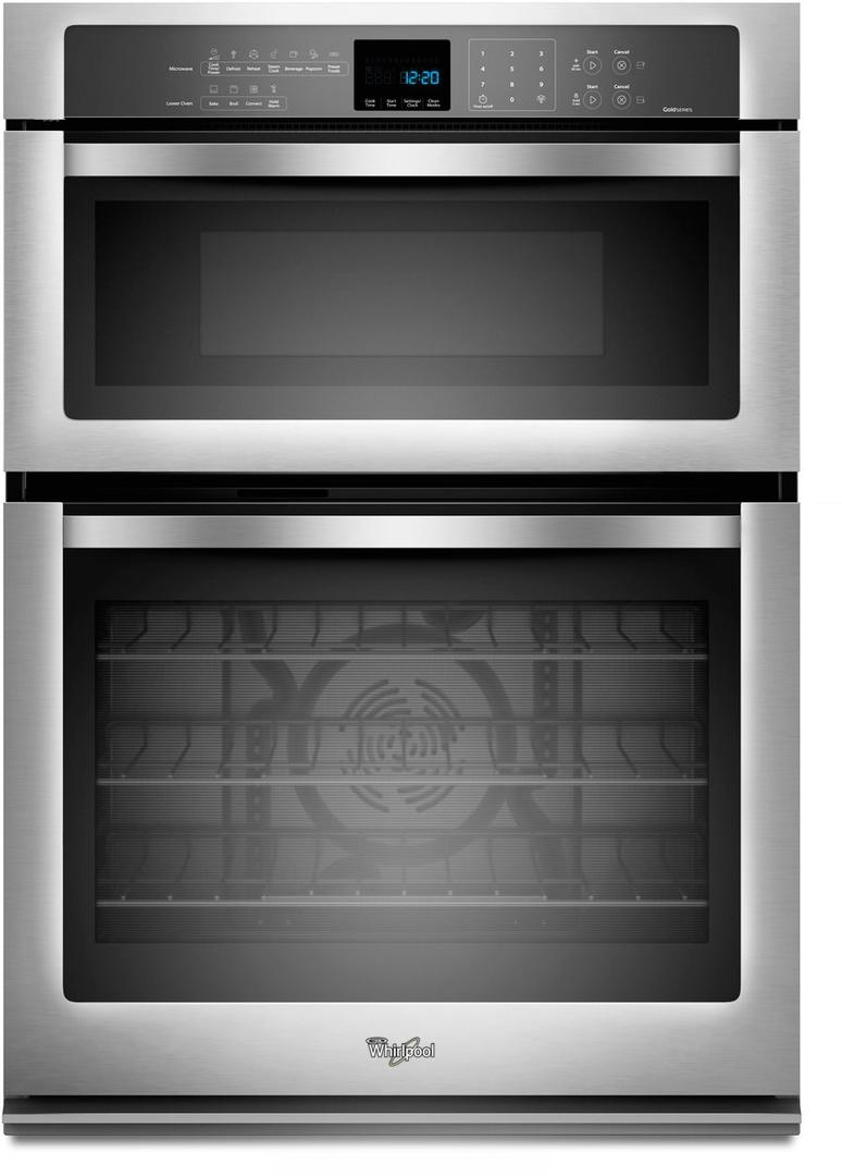 Whirlpool Gold 30 Electric Oven Microwave Combo Built In Stainless Steel