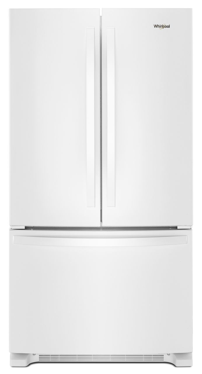 22 cu ft wide french door refrigerator white wrf532smhw whirlpool 22 cu ft wide french door refrigerator white wrf532smhw rubansaba