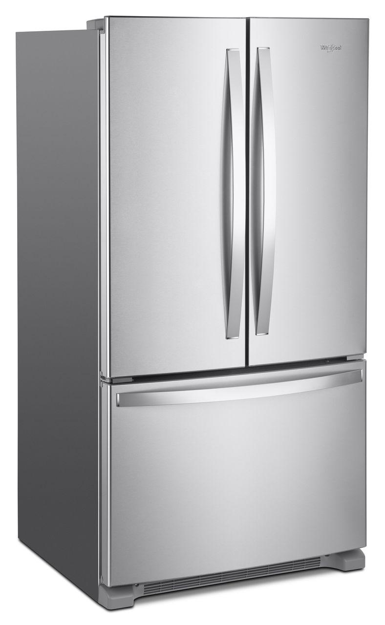 Whirlpool 20 Cu Ft Wide Counter Depth French Door Refrigerator