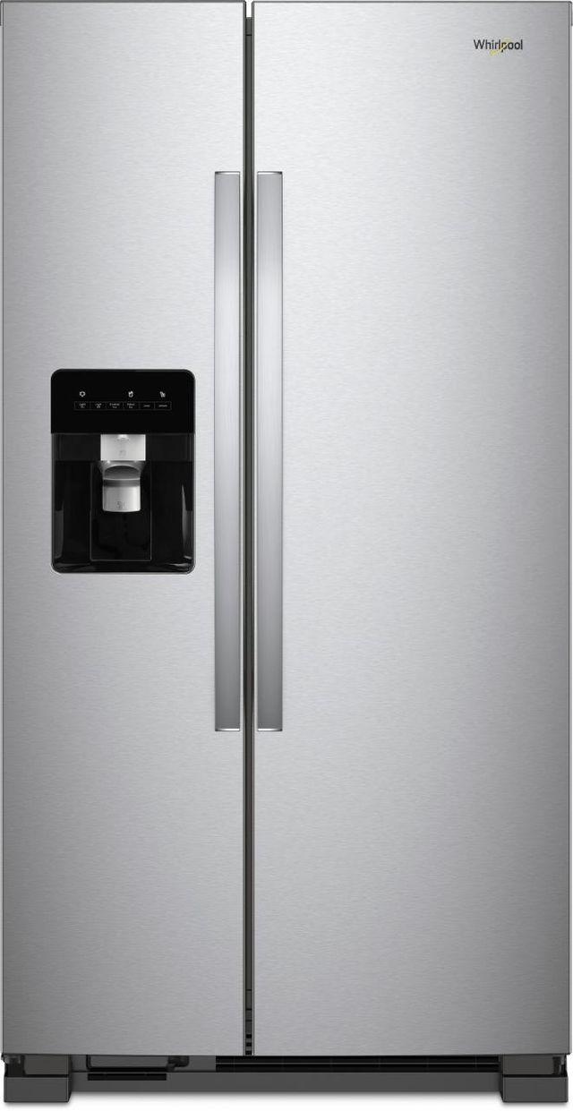 21 Cu Ft Side By Refrigerator