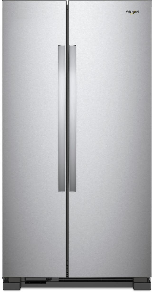 25 1 Cu Ft Side By Refrigerator