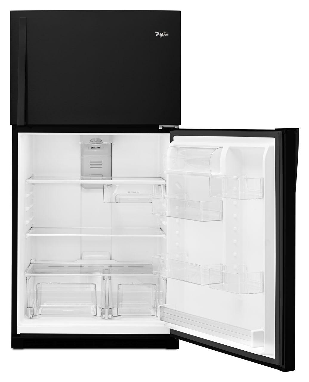 Ft Top Freezer Refrigerator Black Wrt511szdb