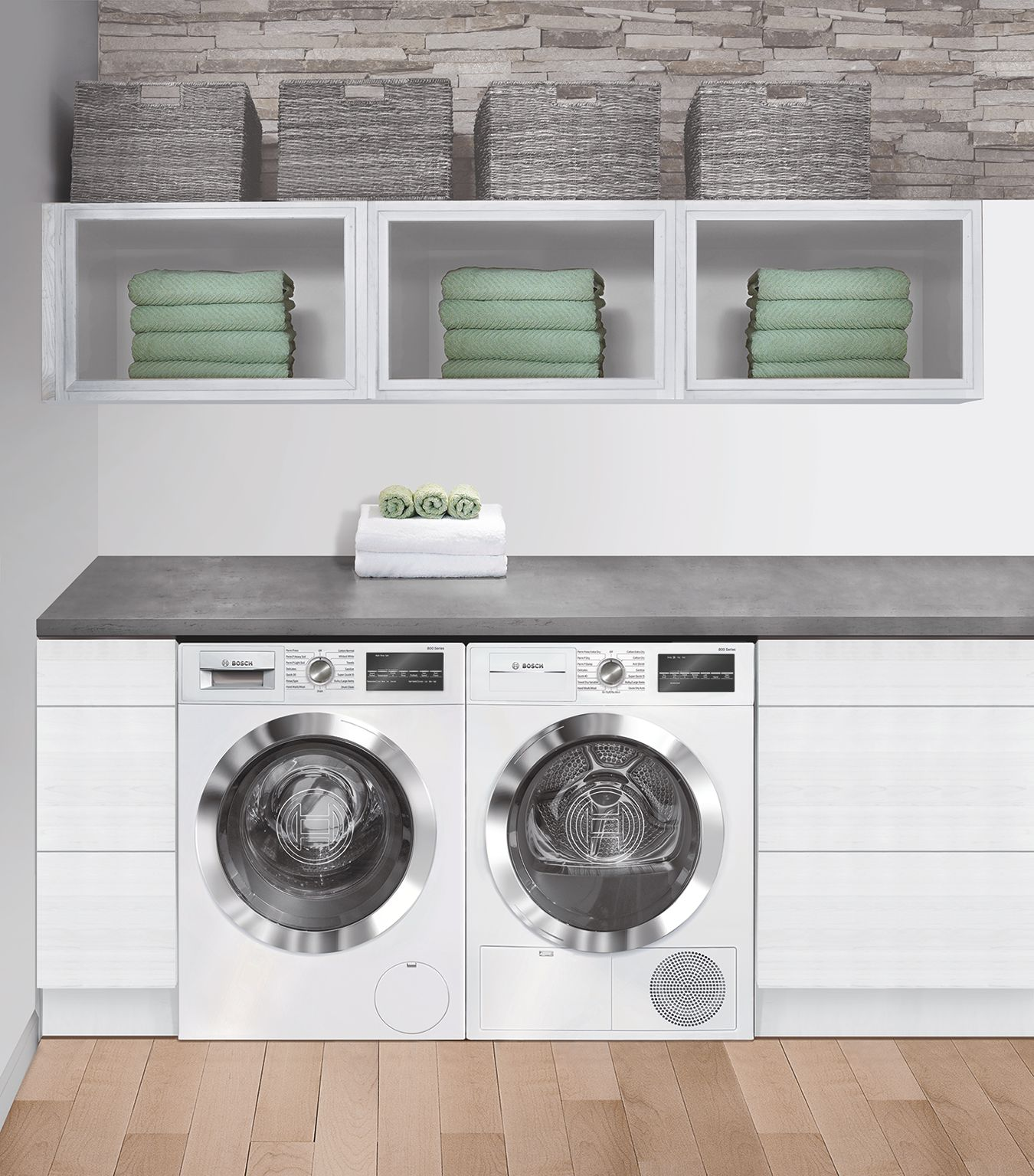 Bosch 500 Series Front Load Electric Dryer White Wtg86402uc