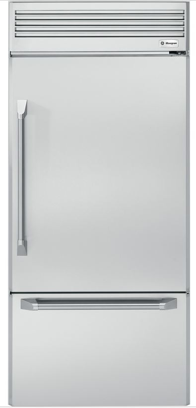 Monogram Professional 21 Cu Ft Built In Bottom Freezer Refrigerator
