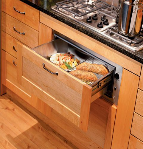 GE® Monogram® Warming Drawer 3/4\