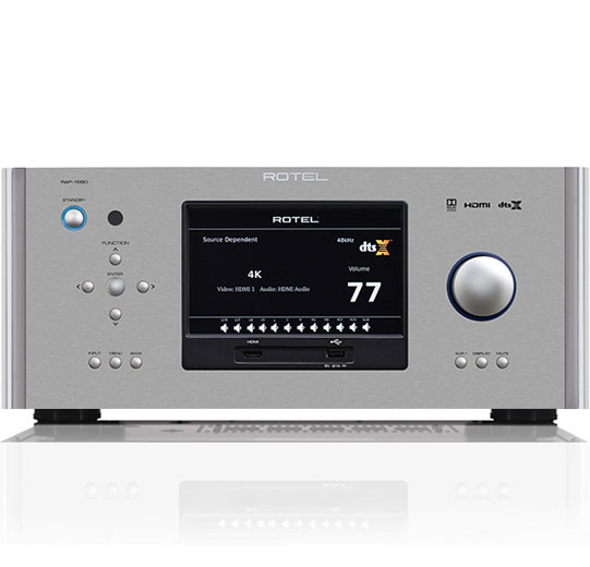 Rotel Hi-Fi SURROUND AMPLIFIED PROCESSORS