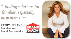 Kathy Ireland-BrandSource Brand Ambassador