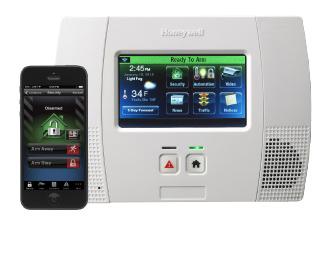 Honeywell Lynx Touch Panel