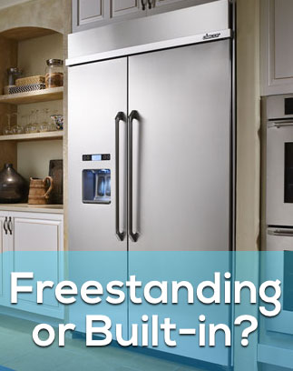 Freestanding Vs Built In Refrigerators What S The