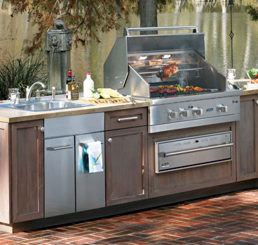 Bring Kitchen Storage Outdoors with Viking Cabinets | BSC ...