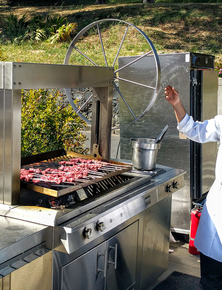 Special Event Outdoor Grilling With