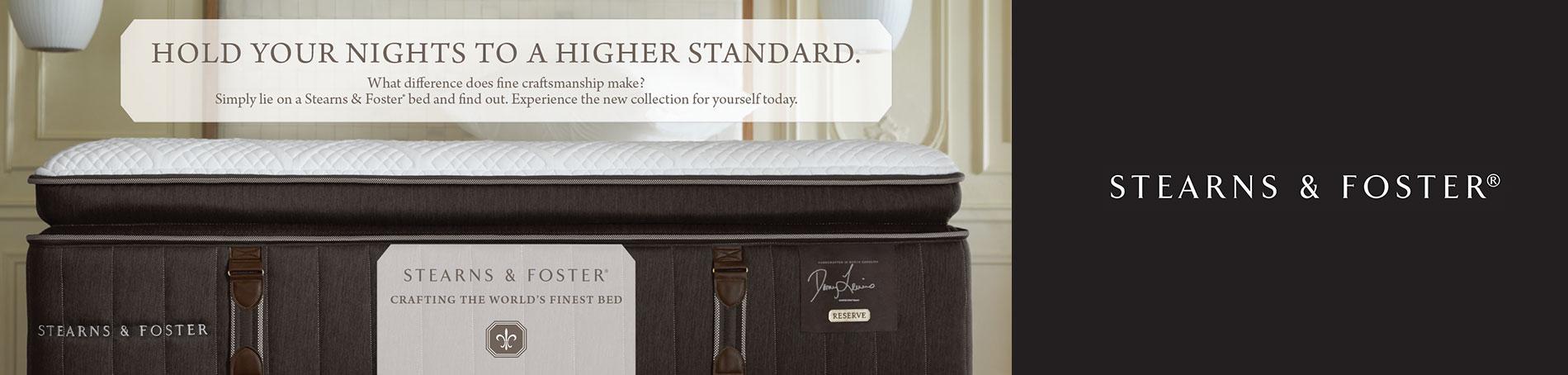 Stearns & Foster Higher Standards