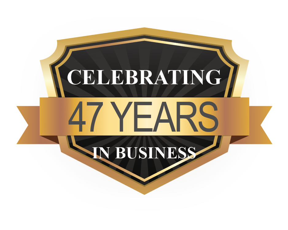 Celebrating 47 Years in Business