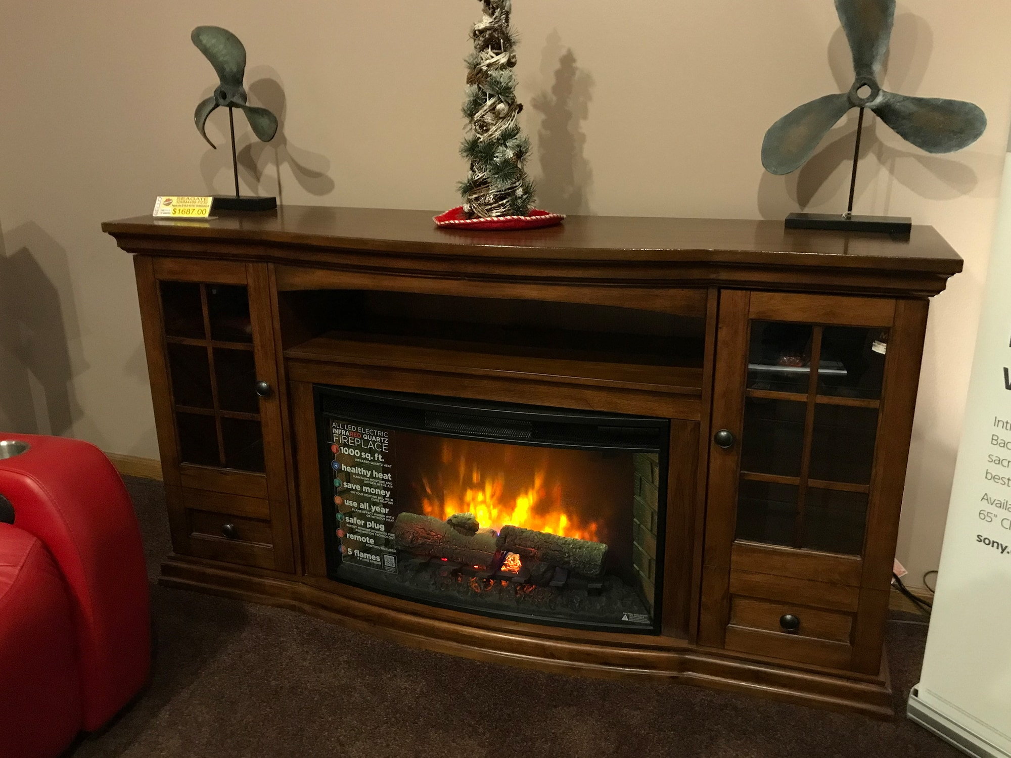 charlton wayfair fireplace home improvement in forres reviews plug electric pdx