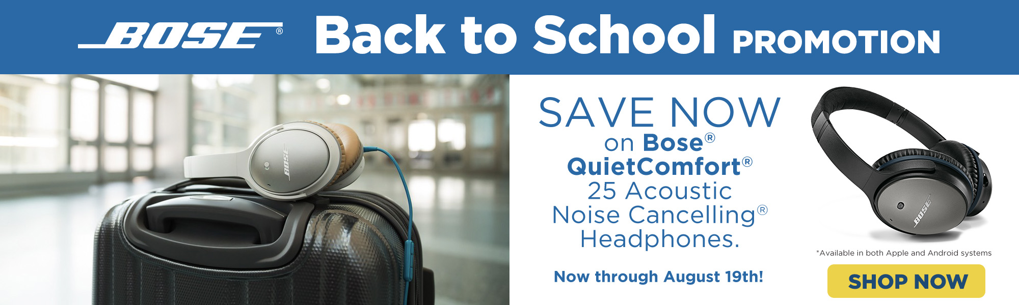 Bose Back to School