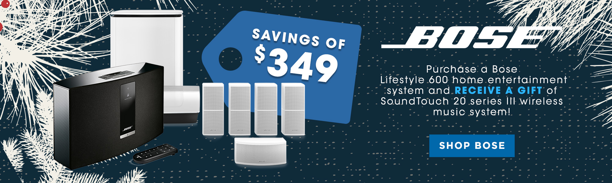 Bose November Savings