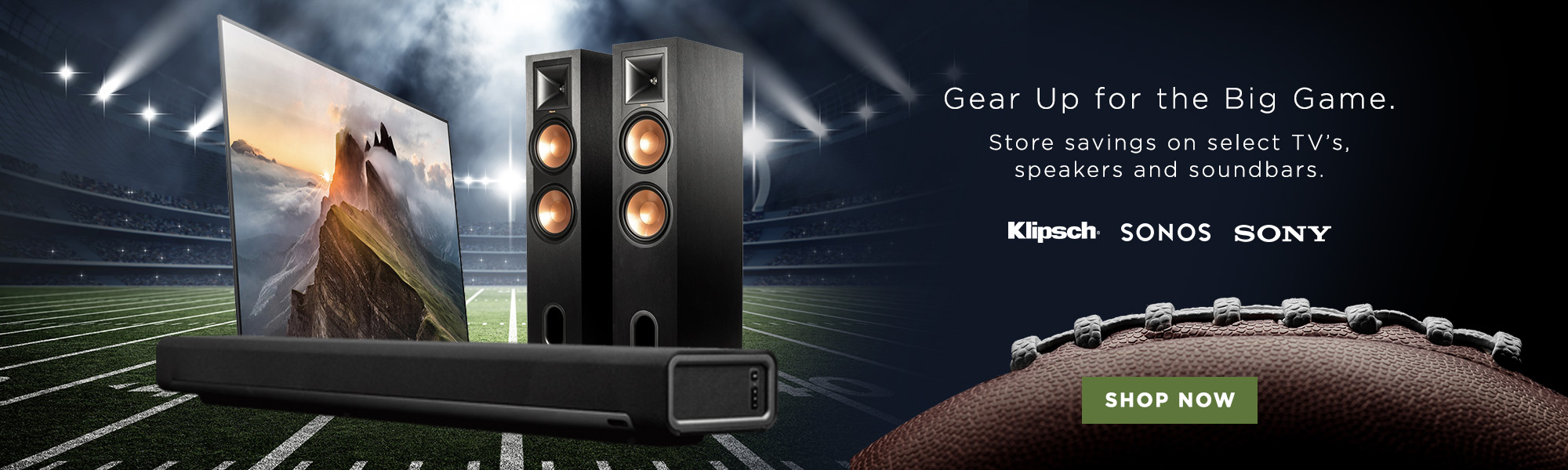 Gear up for the Big Game